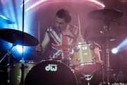 Arturo Zumalabe, baterista de Nuevo Catecismo Católico (FuzzVille - Magic Robin Hood Resort, Alfaz del Pi, 2018)