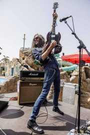 Fernando Pardo, guitarrista de Sex Museum (FuzzVille - Magic Robin Hood Resort, Alfaz del Pi, 2018)