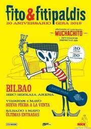 Cartel de Fito y Fitipaldis (Bilbao Exhibition Centre (BEC), Barakaldo, )