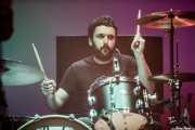 Ander Benito, baterista de Cecilia Payne (MAZ Basauri - Social Antzokia, Basauri, 2018)