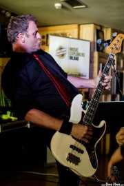 "Ian ""Dipster"" Dean,bajista de Eddie and the Hot Rods (Satélite T, Bilbao, 2018)"