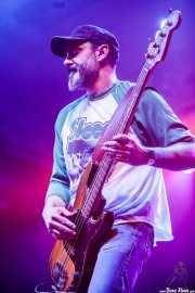 Javi Uriarte, bajista de Arenna (Santana 27, Bilbao, 2018)