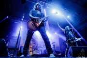 Phil Caivano -guitarra- y Dave Wyndorf -voz y guitarra- de Monster Magnet (Santana 27, Bilbao, 2018)