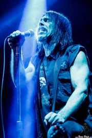 Dave Wyndorf, cantante y guitarrista de Monster Magnet (Santana 27, Bilbao, 2018)