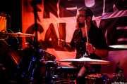 David Tobal, baterista de Negracalavera (Santana 27, Bilbao, 2018)