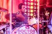 "Luis Javier Sáiz ""Txanpi"", baterista de Doctor Deseo (Kafe Antzokia, Bilbao, 2018)"