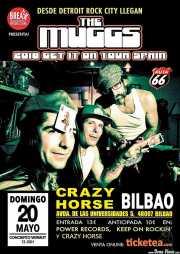 Cartel de The Muggs (Crazy Horse , Bilbao, 2018)