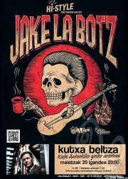 Cartel de Jake La Botz (Kafe Antzokia, Bilbao, )