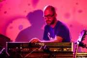 Jan Faszbender, teclista de Colour Haze (Sala Stage Live (Back&Stage), Bilbao, 2018)