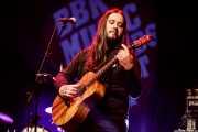 """Aitor """"The Malamute"""" Zorriketa, guitarrista de Mississippi Queen (Sala BBK, Bilbao, 2018)"""