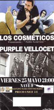 Entrada de Los Cosméticos y Purple Vellocet (Nave 9 (Museo marítimo), Bilbao, )