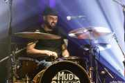 Iñigo Elexpuru, baterista de Mud Candies (Kafe Antzokia, Bilbao, 2018)