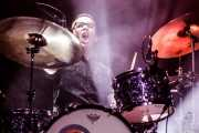 Matthew Meyer, baterista de Pokey LaFarge (Kafe Antzokia, Bilbao, 2018)