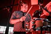 Ravin\' Jerk, baterista de The Sensational Second Cousins (Azkena Rock Festival, Vitoria-Gasteiz, 2018)