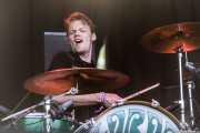 "Steven ""Knuckles"" Van Der Werff, baterista de The Lords of Altamont (Azkena Rock Festival, Vitoria-Gasteiz, 2018)"