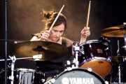 Alba Granados, baterista de MoonShakers (Music Legends Fest, Sondika, 2018)