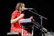 """Carolina de Juan """"Nina"""", cantante y pianista de Morgan (Bilbao BBK Live, Bilbao, 2018)"""