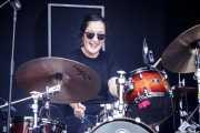 Alba Granados, baterista de MoonShakers (Mundaka Festival, Mundaka, 2018)