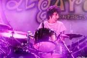 Jordi Vila, baterista sustituto en MoonShakers (Aste Nagusia - Algara Txosna, Bilbao, 2018)