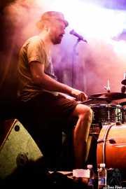 Iñigo Elexpuru, baterista de Mud Candies (Aste Nagusia - Euskalgune, Bilbao, 2018)