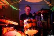 Paul Cook, baterista de The Professionals (Nave 9 (Museo marítimo), Bilbao, 2018)