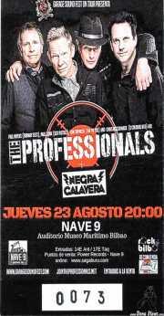 Entrada de The Professionals (Nave 9 (Museo marítimo), Bilbao, )