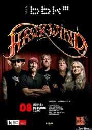 Cartel de Hawkwind (Sala BBK, Bilbao, )