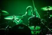 Simon Scott, baterista de Slowdive (BIME festival, Barakaldo, 2018)