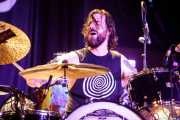 Steve Kiely, baterista de Monster Truck (Santana 27, Bilbao, 2018)