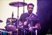 Gaspar Fernández, baterista de Rodrigo Mercado (Bilbao Exhibition Centre (BEC), Barakaldo, 2018)