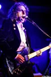 Rudy Mental, cantante y guitarrista de Silver Surfing Machine (Kafe Antzokia, Bilbao, 2018)
