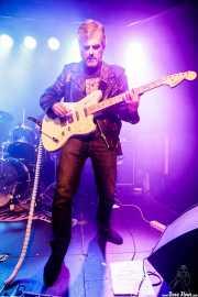 Pat Harrizelay, guitarrista de La Secta (Kafe Antzokia, Bilbao, 2018)