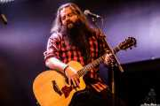 Lander Lourido, guitarrista y cantante de Moonshine Wagon (Santana 27, Bilbao, 2018)