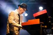 Raimund Dietzen, teclista de The Cherry Boppers (Santana 27, Bilbao, 2018)