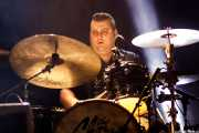 Txefo K-Billy, baterista de The Cherry Boppers (Santana 27, Bilbao, 2018)