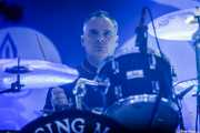 Mike Alonso, baterista de Flogging Molly (Santana 27, Bilbao, 2019)