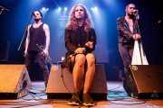 "Oleg Larionov, Maria Alyokhina ""Masha"" y Kiryl Masheka de Pussy Riot (Kafe Antzokia, Bilbao, 2019)"