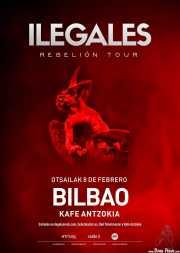 Cartel de Ilegales (Kafe Antzokia, Bilbao, )