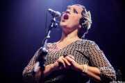 Helena Amado, cantante de O Sister! (Kafe Antzokia, Bilbao, 2019)