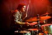 Felix Buff, baterista de Joseba Irazoki eta lagunak (Kafe Antzokia, Bilbao, 2019)