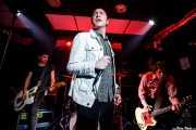 Luiyi Costa -guitarra-, Kurt Baker -voz-, Gonzalo Ibáñez -bajo- y  Juan Irazu -guitarra- de Bullet Proof Lovers