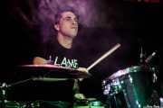 Aitor Barbadillo, baterista de Crap (Sala Azkena, Bilbao, 2019)