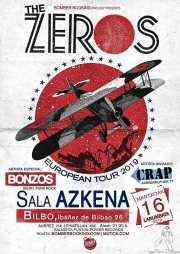 Cartel de The Zeros (Sala Azkena, Bilbao, )