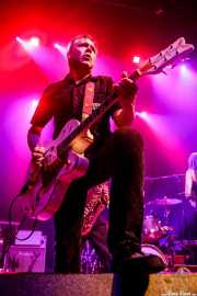 Carlos Beltrán, guitarrista de Micky & The Buzz (Kafe Antzokia, Bilbao, 2019)