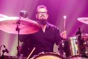 Javi Arias, baterista de Los DelTonos (Kafe Antzokia, Bilbao, 2019)