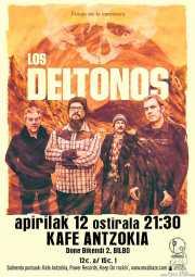 Cartel de Los DelTonos (Kafe Antzokia, Bilbao, )