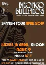 Cartel de Bronco Bullfrog (Nave 9 (Museo marítimo), Bilbao, )
