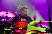 David Tobal, baterista de Negracalavera (Kafe Antzokia, Bilbao, 2019)