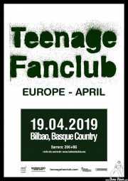 Cartel de Teenage Fanclub (Nave 9 (Museo marítimo), Bilbao, )