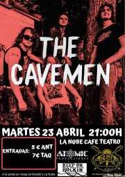 Cartel de The Cavemen (La Nube Café Teatro, Bilbao, )